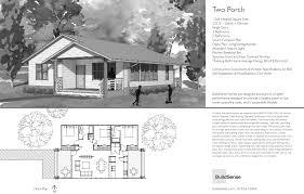 two porch catalog plan buildsense