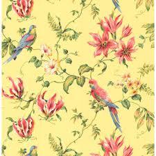 Modern Floral Wallpaper Casabella Cj2800 Tropical Floral Wallpaper Floral Wallpapers And