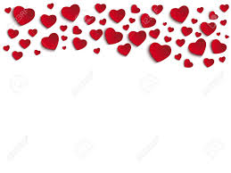 valentine day heart on white background royalty free cliparts