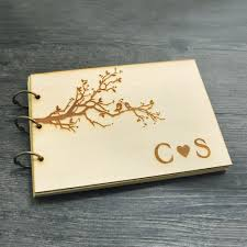 personalized wedding album aliexpress buy wedding guest book a5 size personalized