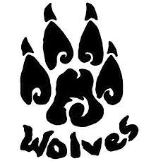 wolf paw print best photos of wolf paw print clip tribal