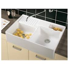 Villeroy  Boch Butler  Mm X Mm White Double Bowl Belfast - Ceramic kitchen sinks uk
