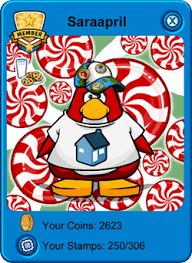 club penguin gift card saraapril in club penguin 12 22 11