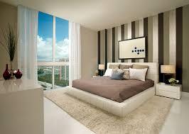 Skyline Wallpaper Bedroom 20 Trendy Bedrooms With Striped Accent Walls
