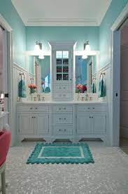 blue bathroom decor ideas best 25 turquoise bathroom ideas on chevron bathroom