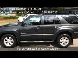 toyota 4runner 2006 for sale 2006 toyota 4runner sport edition 4dr suv for sale in enterp