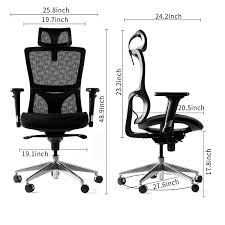 Who Invented The Swivel Chair by Amazon Com Winmi Mesh Ergonomic Office Desk Chair High Back