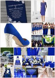 mariage bleu et blanc mariage bleu roi blanc carnet inspiration mariage