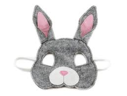 bunny mask ruby the rabbit mask small loud