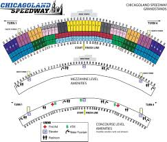 Map Of Chicago Land Area by Chicagoland Speedway Maps Chicagoland Speedway