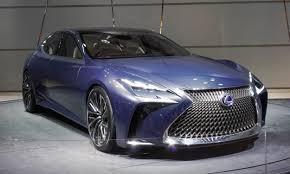 lexus concept lf lc 2015 lexus lf fc concept lf lc blue concept front three quarters