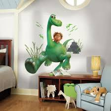 roommates 5 in w x 19 in h arlo the good dinosaur peel and stick h arlo the good dinosaur peel and stick giant wall decal rmk3120gm the home depot