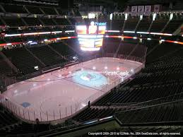 prudential center section 124 seat views seatgeek