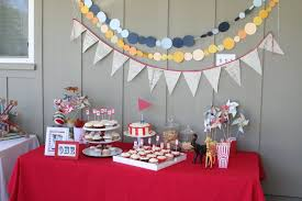 cool birthday party decoration ideas that red decorated table with