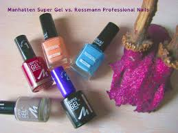 manhattan supergel vs rossmann professional nails review youtube