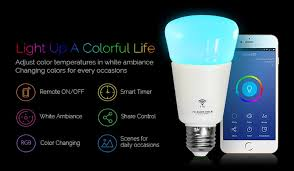 Changing Color Light Bulbs Wifi Led Bulb Dimmer Smart Rgbw Light Bulbs Remote Control Wifi