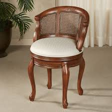 Bathroom Chairs Furniture Lovely Vanity Chairs With Back Designs Custom Decor