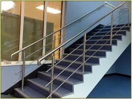 steel stair railing home design ideas