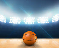 Basketball Courts With Lights Basketball Court Stock Photos Royalty Free Images