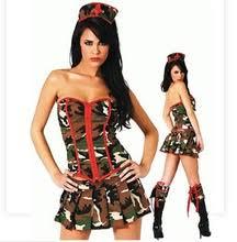 Halloween Army Costume Popular Womens Military Costume Buy Cheap Womens Military Costume