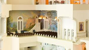 home temple design interior scaled model provides salt lake temple open house experience