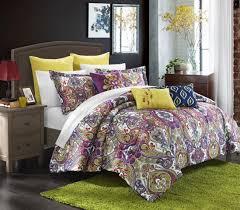 Paisley Comforter Sets Full Bedding Remarkable Seaglass Paisley 8 Pc Comforter Bed Set Bedding