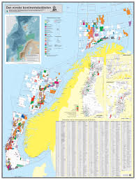 Norway On World Map by Map Of The Norwegian Continental Shelf Norwegian Petroleum