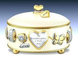 communion jewelry box granddaughter jewelry box personalized jewelry box