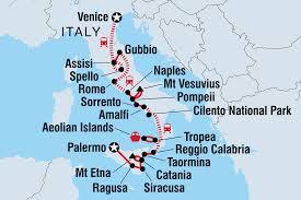 Pompeii Map Venice To Sicily Italy Tours Intrepid Travel Ie