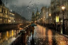 imagenes de paisajes lluviosos fotos de ensueño de días lluviosos que parecen pinturas al óleo