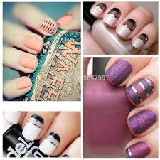30pcs set nail tools mixed colors nail art tips nail art sticker
