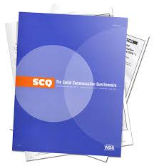 social communication questionnaire scq acer