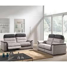 canap relax moderne ensemble canapés relax électrique en tissu calvi ensemble canapés