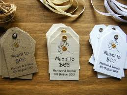 honey favors honey bee wedding favors these are great to make into tags for