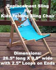 Patio Chair Replacement Slings Pine Folding Rocking Chair Replacement Sling With Pillow