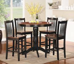 Wooden Dining Set Furniture Amazon Com Homelegance 2458 36 5 Piece Round Counter Height