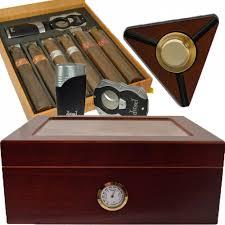 groomsmen cigar gift set for the guys