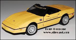 mid america designs corvette franklin mint 1 24 1986 corvette convertible pace car by mid