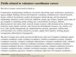 top 5 volunteer coordinator cover letter samples