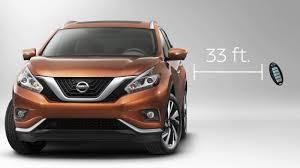 nissan murano quick reference guide 2017 nissan murano intelligent key and locking functions youtube