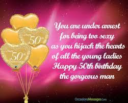 happy 50th birthday wishes occasions messages