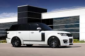 matte white range rover tuning range rover vogue lumma clr r topcar