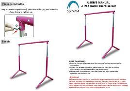amazon com ballet barre workout portable freestanding