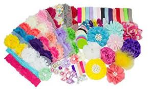 headband supplies baby shower supplies party diy headband station