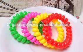 elastic hairband ponytail holder for girl pretty kids elastic hair bands wholesale