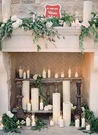 Fireplace Decor 50 Wedding Fireplace Decor Ideas Happywedd Com