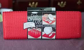 kitchen drying mat the proverbs31 mama the original dish drying mat review