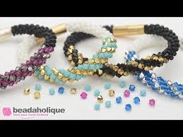 bead bracelet kit images How to make the deluxe beaded kumihimo bracelet kit with spiral jpg