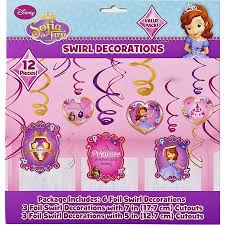 Hanging Party Decorations Sofia The First Hanging Party Decorations Party Supplies