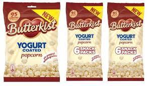 Seeking Popcorn Butterkist Claims Uk With Launch Of Yogurt Coated Popcorn